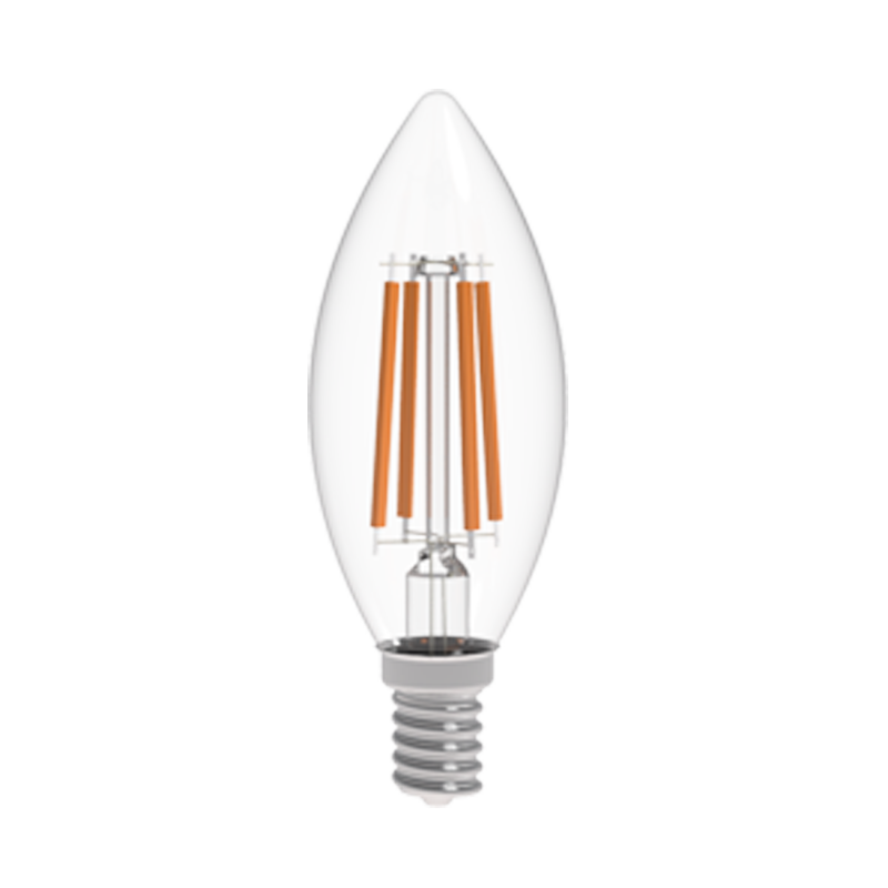 Led b10 filament lamp faraday lighting company for Lights company