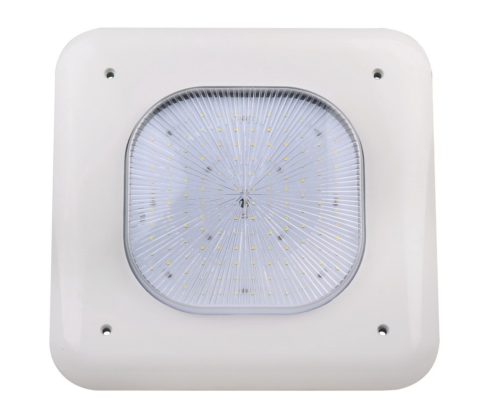 canopy light for gas stations 347v   faraday lighting company