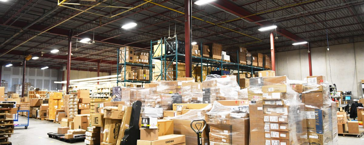 Industrial Lighting Solutions for warehouse