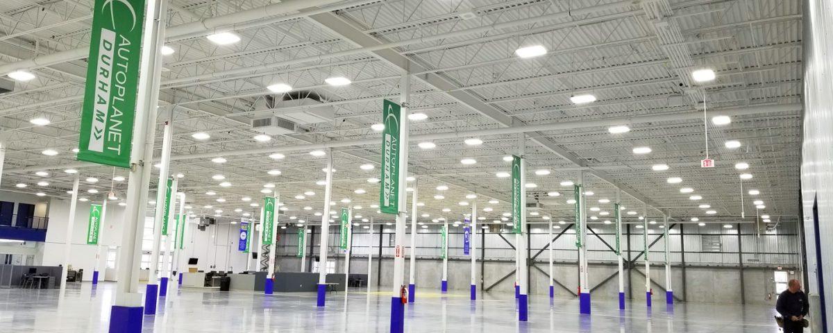 LED lighting fixtures in GTA